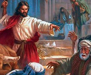 Cuaresma 3 – B | Jesús expulsa vendedores del templo | IQC2021
