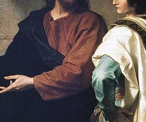 Domingo 28 – B | Jesús y el joven rico | IQC2021